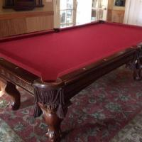 Beautiful Billiard Table