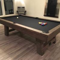Pool Table- Plank & Hide Isaac