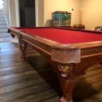 American Heritage 8ft Pool table